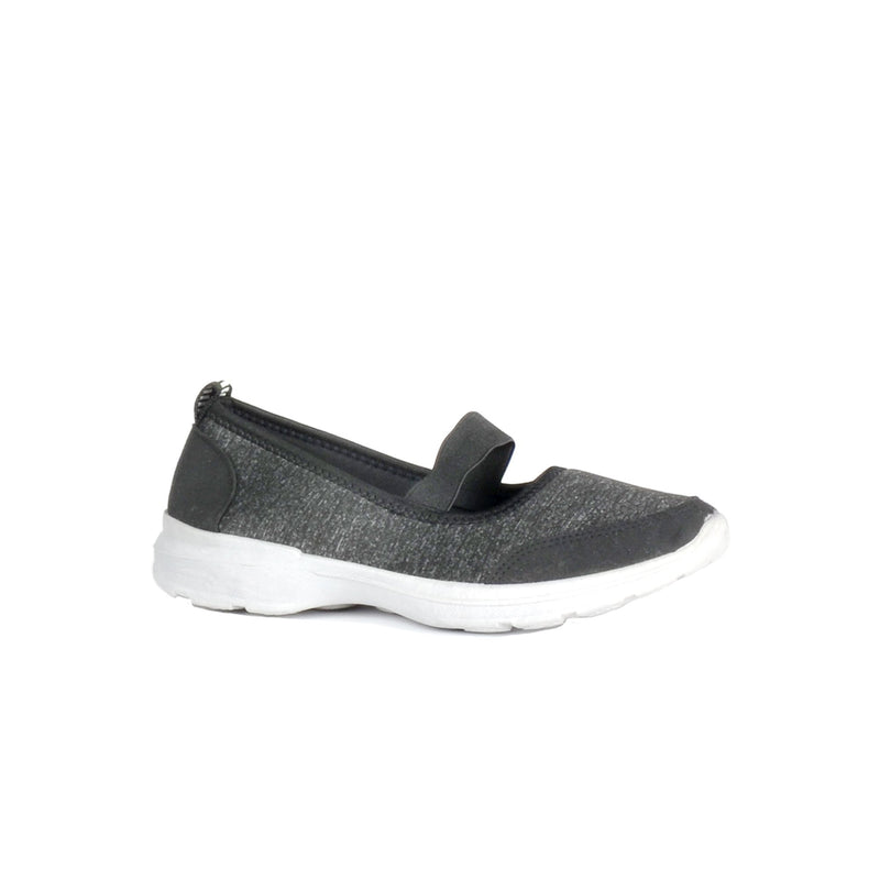 Ultra Comfy Walking Shoes With Strap - Black - Magasins Hart | Hart Stores