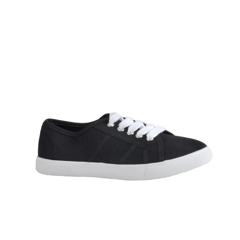 Canvas Shoes - Black - Magasins Hart | Hart Stores