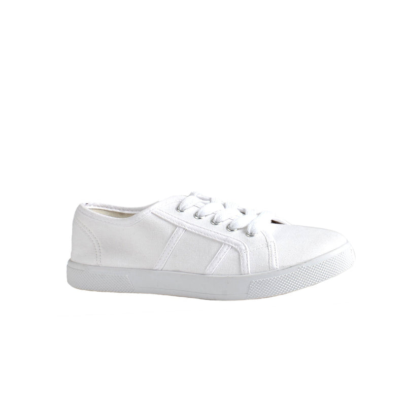Canvas Shoes - White - Magasins Hart | Hart Stores