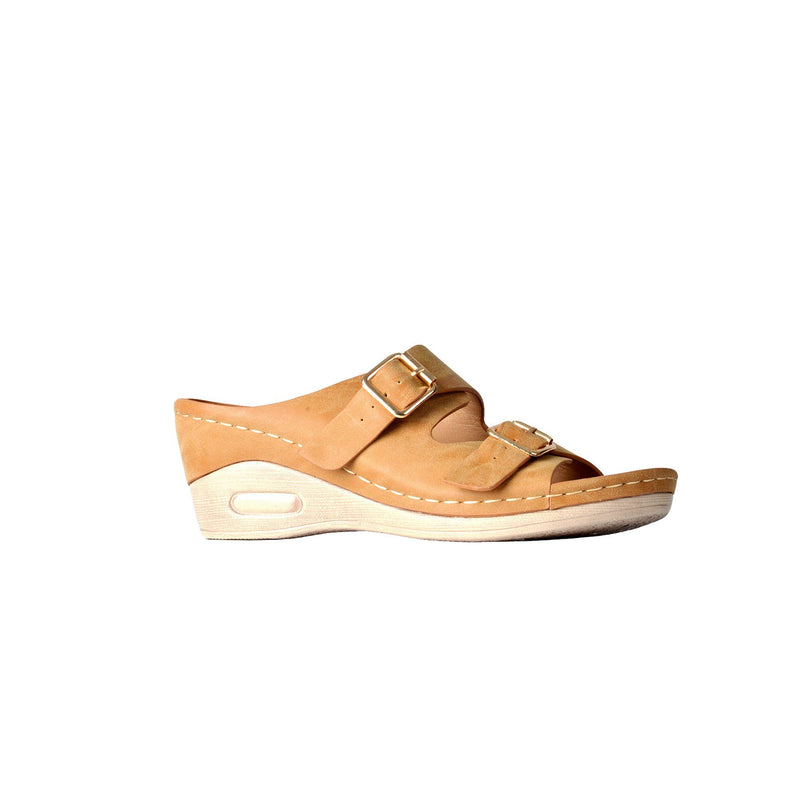 Wedge Sandals - Camel - Magasins Hart | Hart Stores