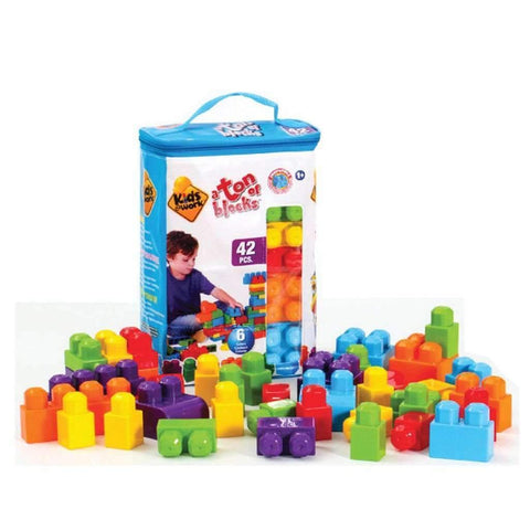 Kids At Work 42 Pcs Block Tote