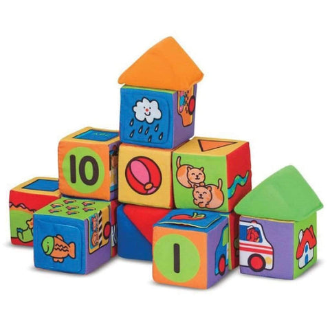 Melissa & Doug - Match And Build Blocks