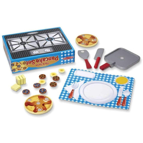 Melissa & Doug - Wooden Flip And Serve Pancake Set
