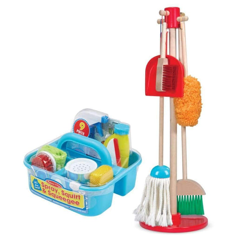 Melissa & Doug - Toy Duster, Sweeper & Mop Set