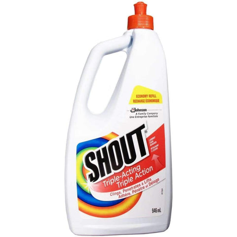 Shout - Triple-Acting Laundry Stain Remover Refill