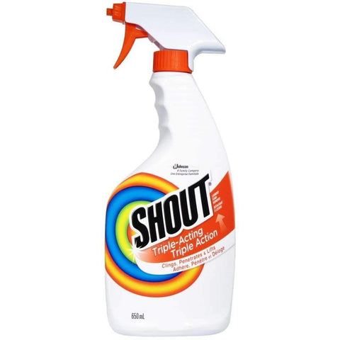 Shout - Triple-Acting Laundry Stain Remover Spray