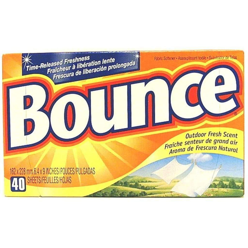 Bounce - Fabric Softener Dryer Sheets, Outdoor Fresh - Magasins Hart | Hart Stores
