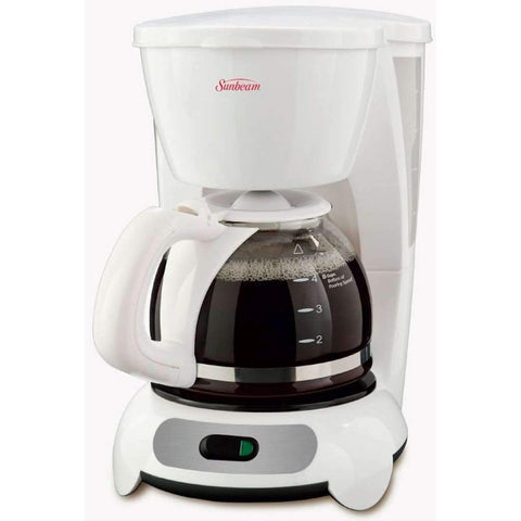 Sunbeam - 5-Cup Switch Coffeemaker, White
