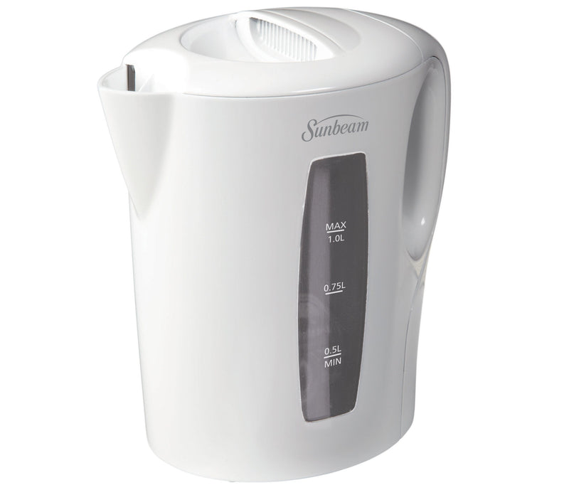 Sunbeam 1Lt Electric Kettle White - Magasins Hart | Hart Stores