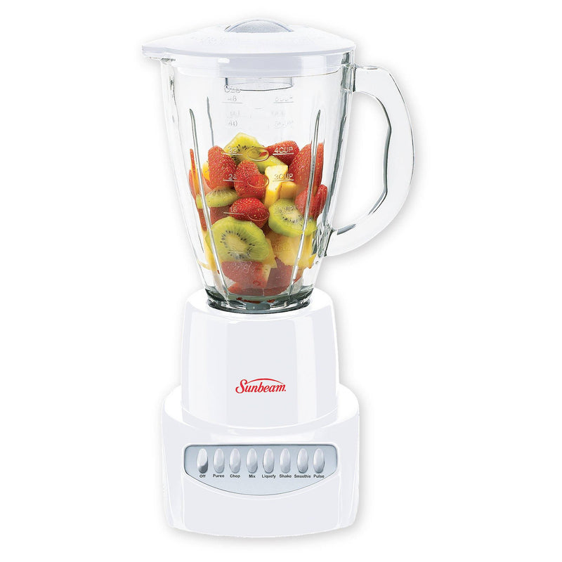 Sunbeam - 6 Speed White Blender - Magasins Hart | Hart Stores