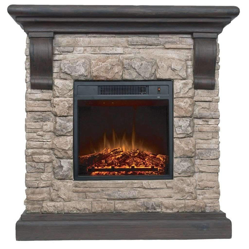1500W Faux Stone Fireplace - Magasins Hart | Hart Stores