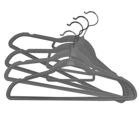 Adrien Lewis - Set of 50 Velvet Hangers - Grey