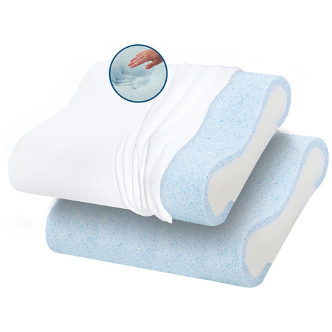 Gel Base Memory Foam Pillow