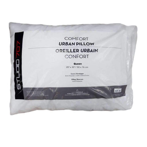 Studio 707 - Urban Comfort Muslin-Polycotton Pillow, 20x30""