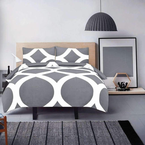 Adrien Lewis - Manhattan 3 Piece Duvet Cover