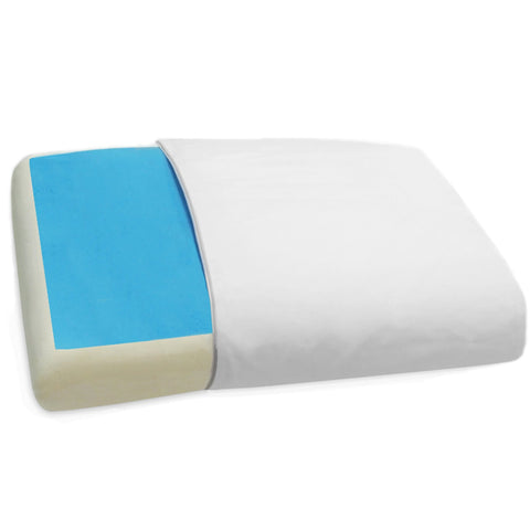 Maison Blanche - Gel Memory Foam Reversible Pillow