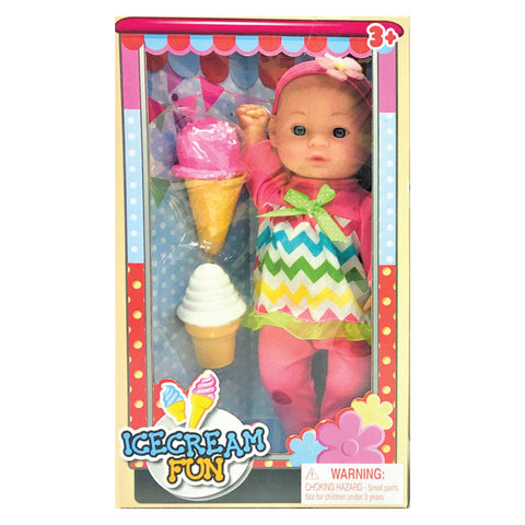 Ice Cream Fun Doll