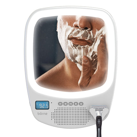 SHARPER IMAGE Shower Mirror - Radio