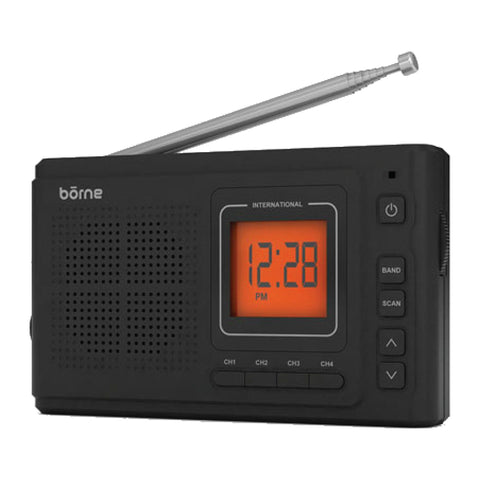 Borne 12 Band Portable AM/FM Radio