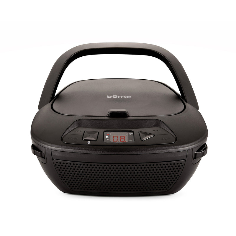 bōrne - Bluetooth Portable CD Boombox with AM/FM Radio - Magasins Hart | Hart Stores