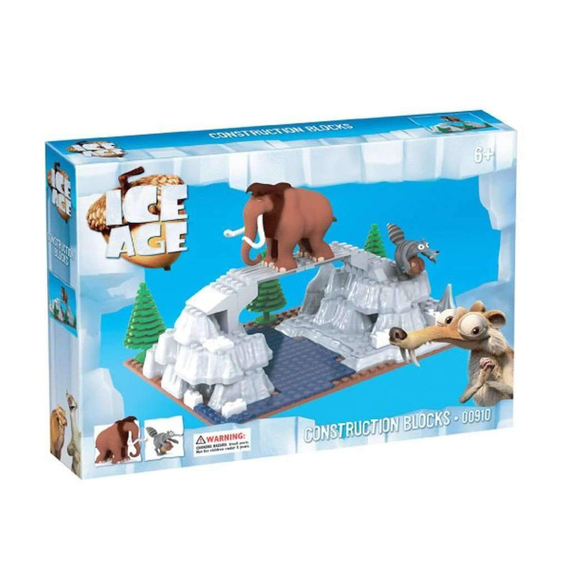 BricTek - Ice Age Manny & Scrat Construction Blocks - Magasins Hart | Hart Stores