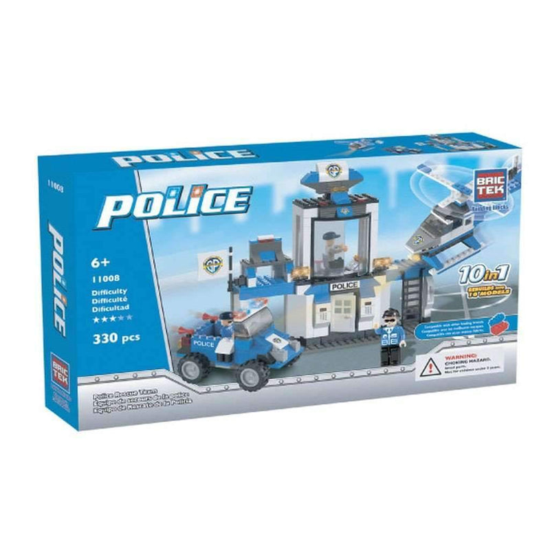 BricTek - 10 in 1 Police Rescue Team - Magasins Hart | Hart Stores