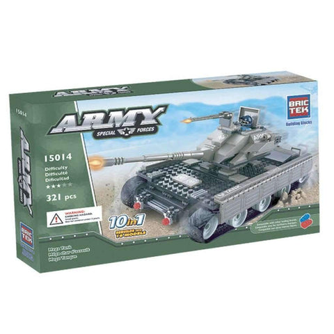 BricTek - 10 in 1 Army Mega Tank