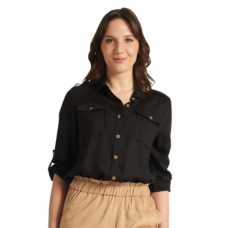 Utility Blouse - Black - Magasins Hart | Hart Stores