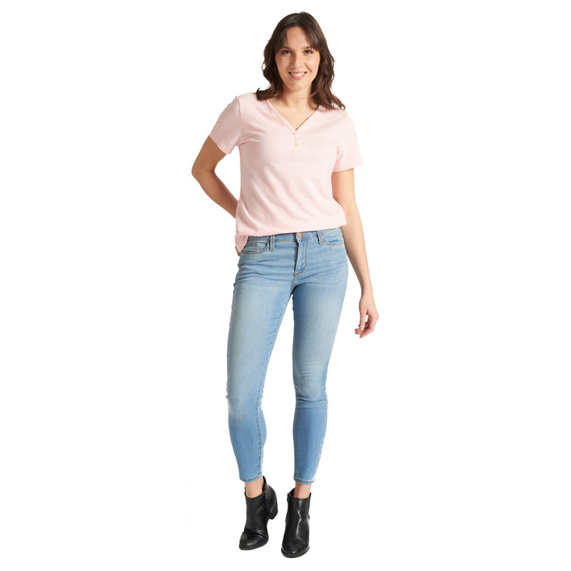 Shaping Ankle Jeans - Light Blue - Magasins Hart | Hart Stores