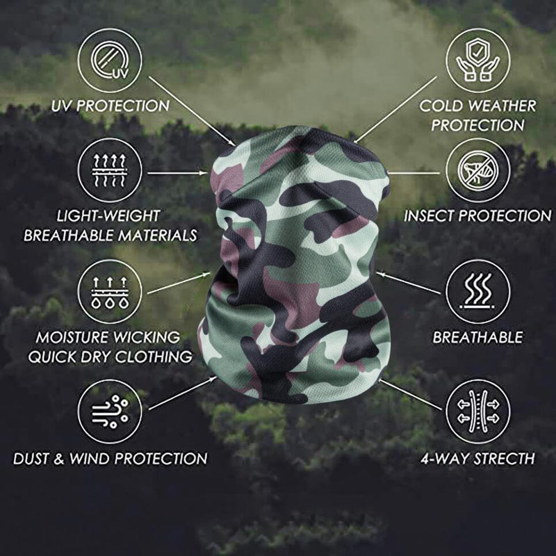 Bandana Face Mask - Green Camo (Available online only) - Magasins Hart | Hart Stores