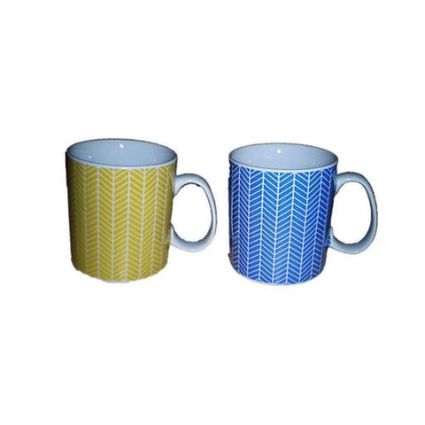 Assorted 400ml Mugs