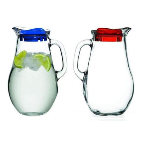 1.85L Glass Jugs, Set of 2