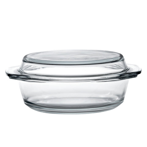 Glass Casserole and Lid 16cm