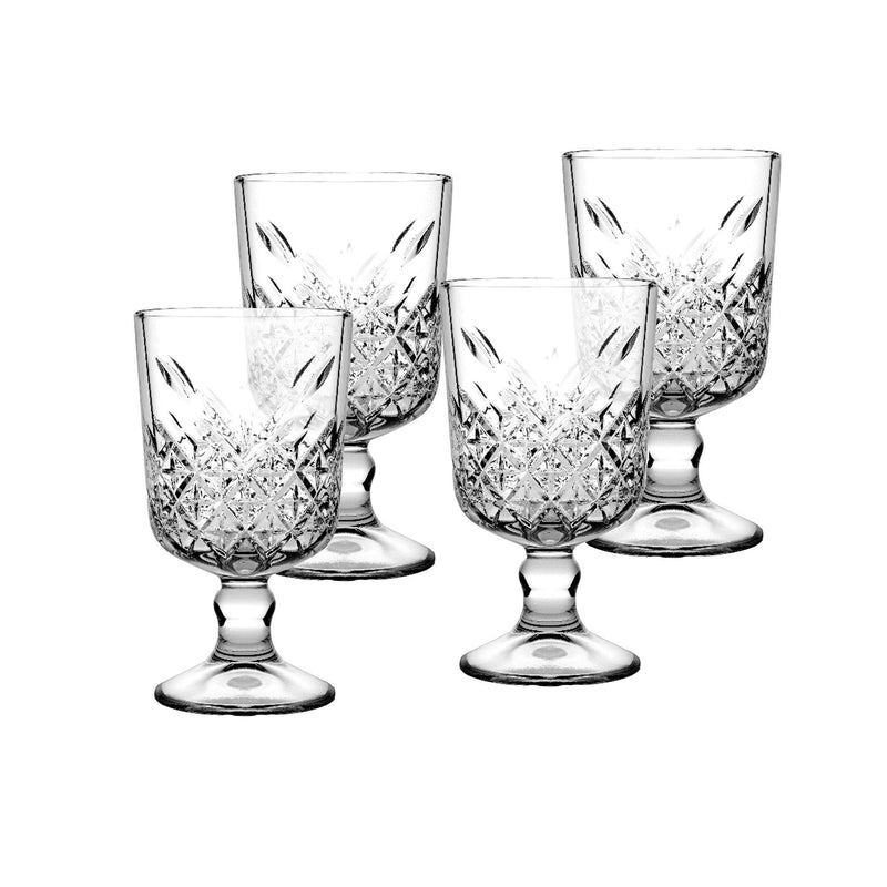 Pasabahce - Timeless Wine Goblets, Set of 4 - Magasins Hart | Hart Stores
