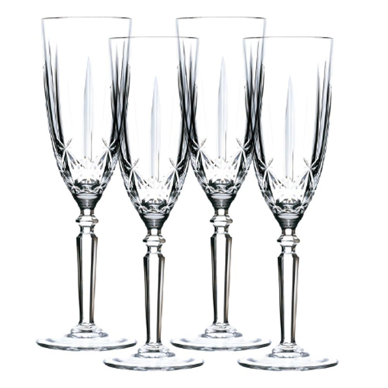 Orchestra - Bohemian Crystal Flutes - Magasins Hart | Hart Stores