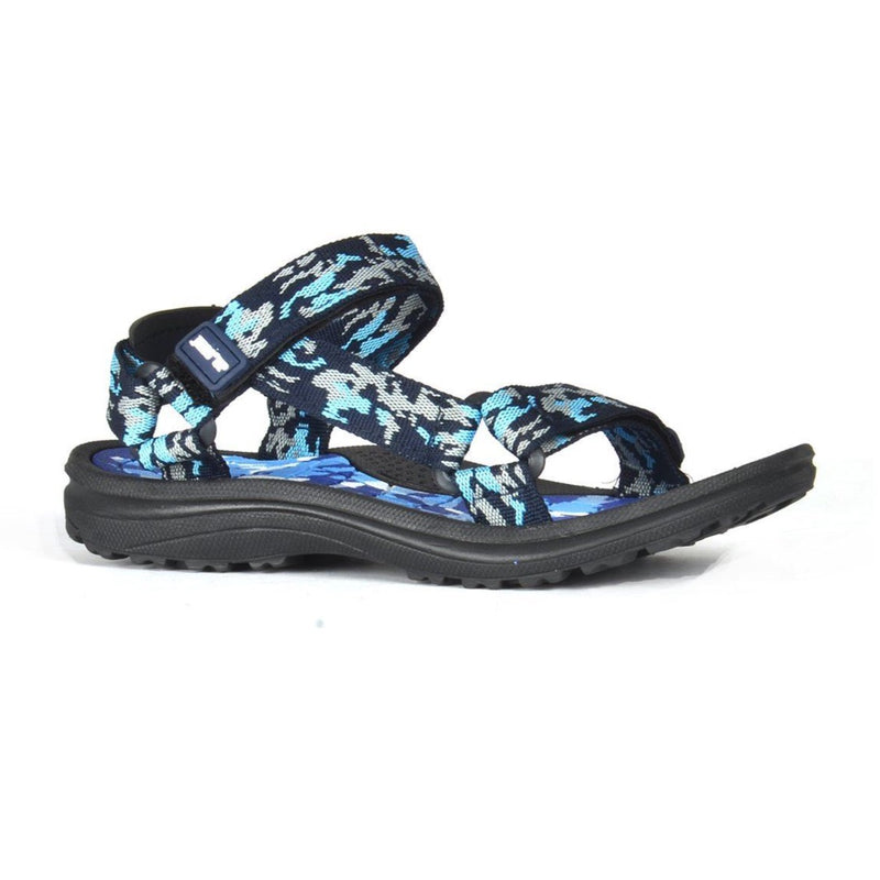 Army Velcro Sandals - Blue - Magasins Hart | Hart Stores