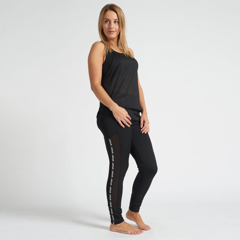 Sports Legging - Black - Magasins Hart | Hart Stores