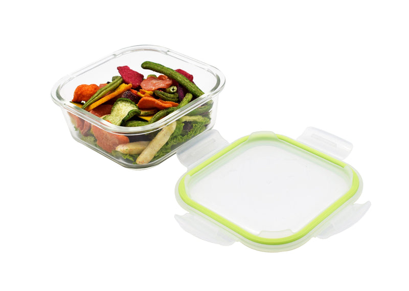 Square Glass Food Container - Magasins Hart | Hart Stores