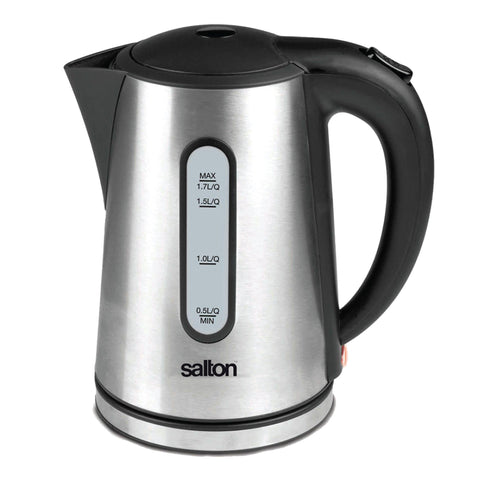 Salton - 1.7Qt Stainless Steel Kettle