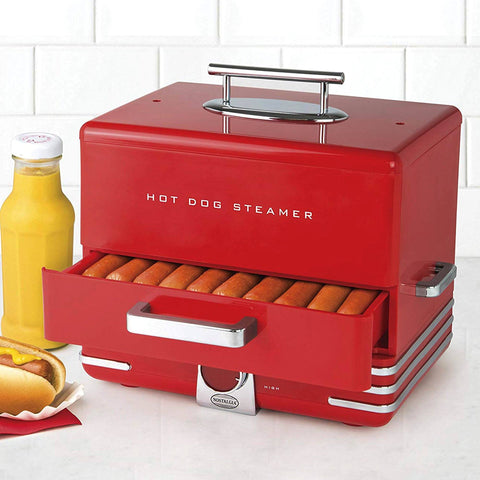 Nostalgia - Retro Hot Dog Steamer