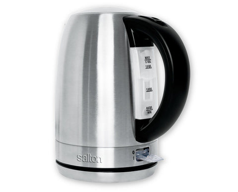 SALTON - Cordless Stainless Steel Electric Kettle