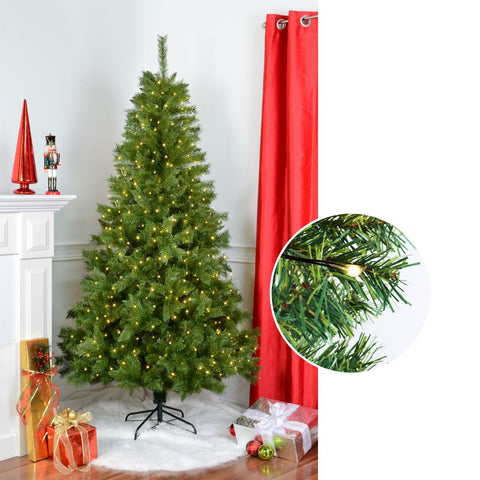 "Sapin Noble 7"" Avec 1120 Pointes, 400 L 