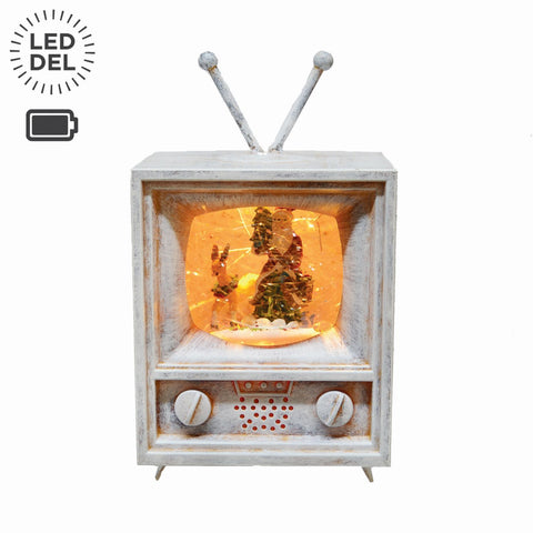 "8"" Led/Musical Tv Lantern B/O"