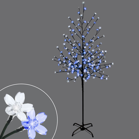 6' Led Light Up Blossom Tree, 200 Lights
