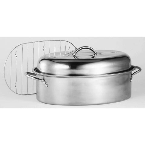 Roaster Oval Stainless Steel