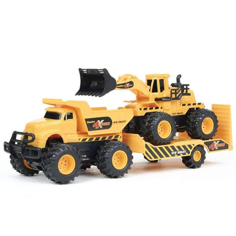 4x4 Construction Twin Pack With Trailer