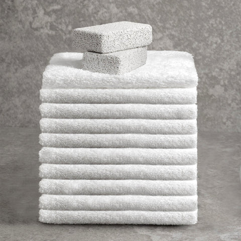 Deluxe Facecloth - Blanc