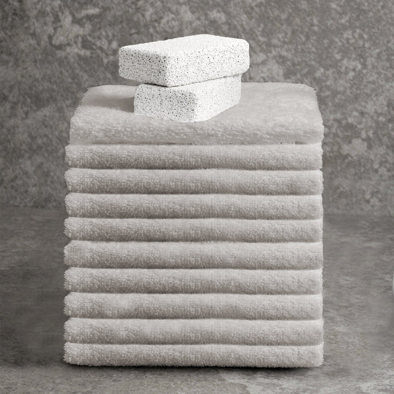 Adrien Lewis - Egyptian Cotton Combed Washcloths - Magasins Hart | Hart Stores