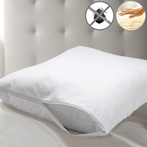 Studio 707 - Memory Foam Pillow with Bed Bug Protector