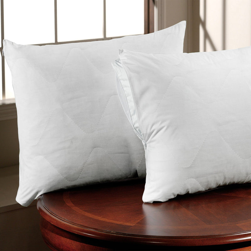 Percale 180 Thread Count Polycotton Pillow Protectors - Magasins Hart | Hart Stores